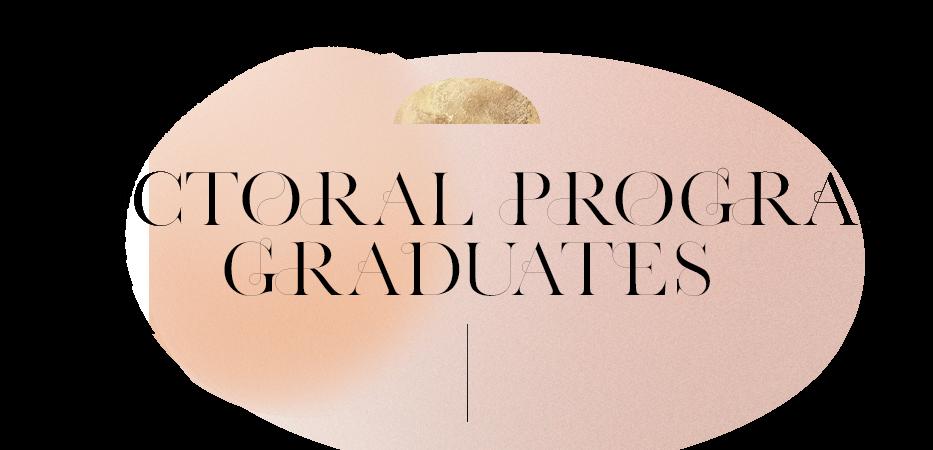 Doctoral Program Candidates
