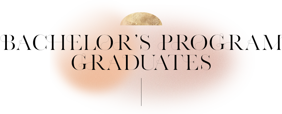 Bachelor's Program Graduates